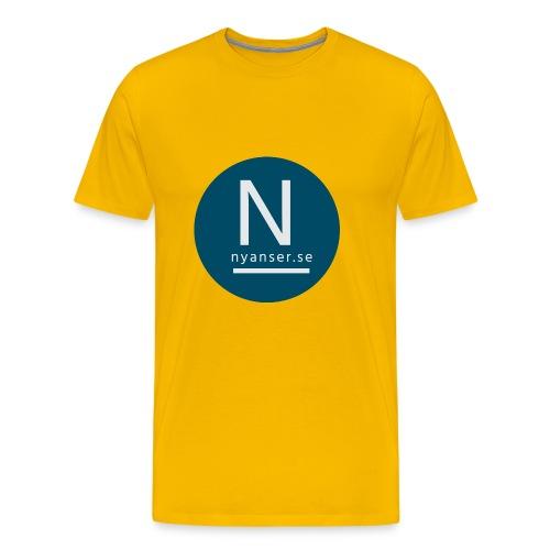 Nyanser.se mugg - Premium-T-shirt herr