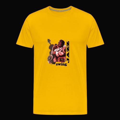 saxofonista1 - Camiseta premium hombre