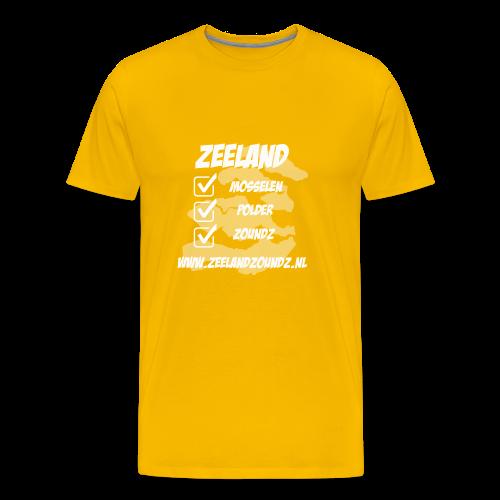 Mosselen - Polder - ZoundZ - Mannen Premium T-shirt