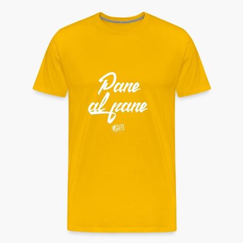 Uomo - Maglietta - Pane al Pane - Maglietta Premium da uomo