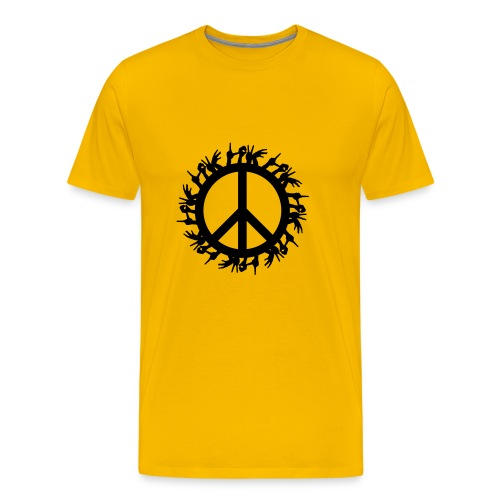 Peace 4 the World - Männer Premium T-Shirt