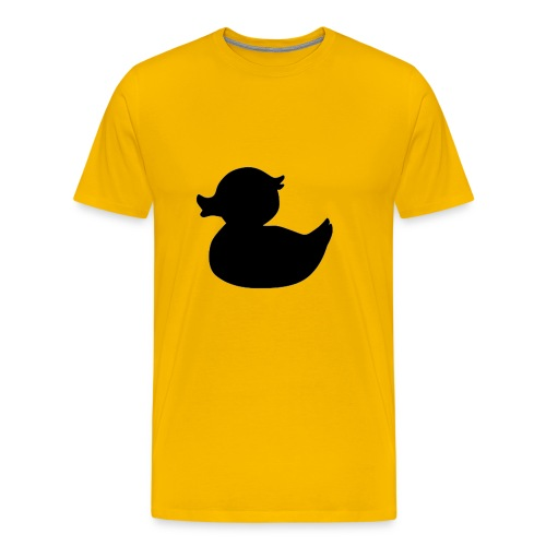 Duck Black - Mannen Premium T-shirt