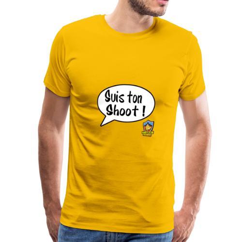 Suis ton shoot ! - T-shirt Premium Homme