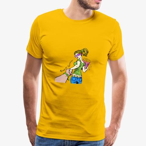 viens je t'emmène ... au cinéma - T-shirt Premium Homme