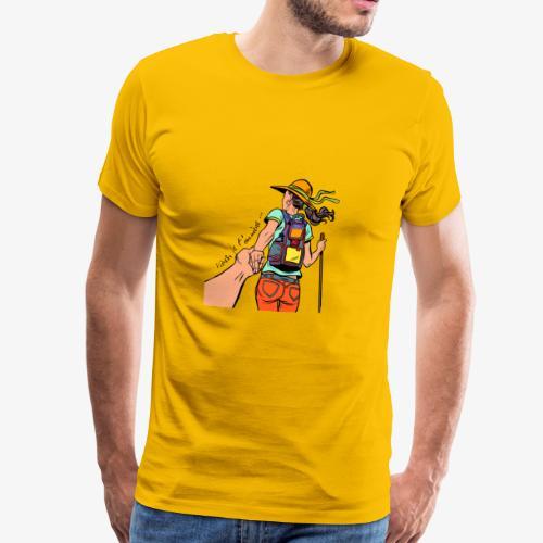 viens je t'emmène ... en rando - T-shirt Premium Homme