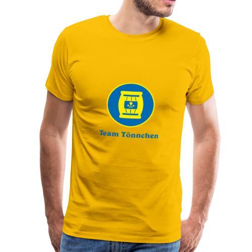 Team Tönnchen Logo mit Text in Vicky-Farben - Männer Premium T-Shirt