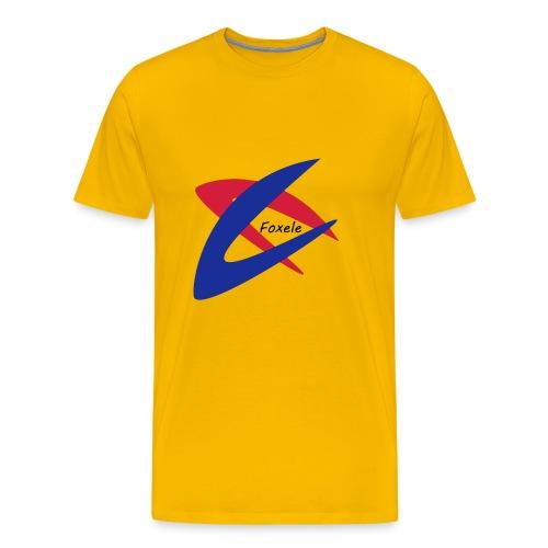 Red/Blue - Men's Premium T-Shirt