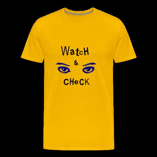 watch - Maglietta Premium da uomo