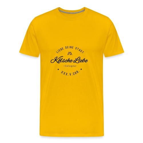 Koelsche Liebe Black - Männer Premium T-Shirt