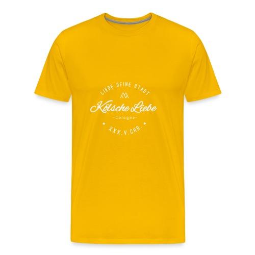 Koelsche Liebe White - Männer Premium T-Shirt