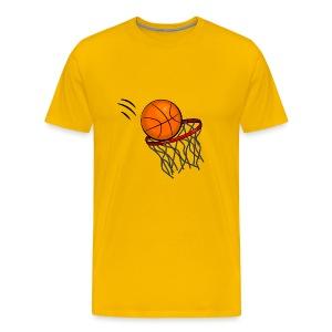 Ball in the Hoop - Men's Premium T-Shirt