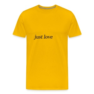 just love - T-shirt Premium Homme