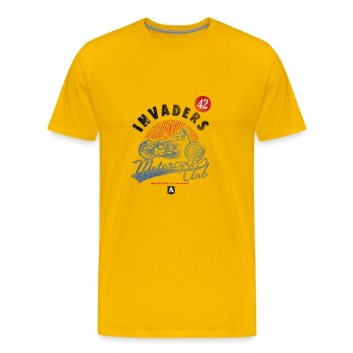 DownloadT-ShirtDesigns-com-2121724 Invaders - Men's Premium T-Shirt