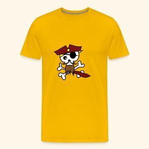 KavalierPirat Captain Logo - Männer Premium T-Shirt