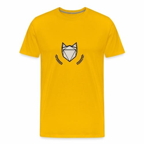 Fuchs mit Kranz - Männer Premium T-Shirt