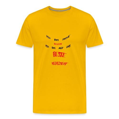 Ich bin nicht klein - Männer Premium T-Shirt