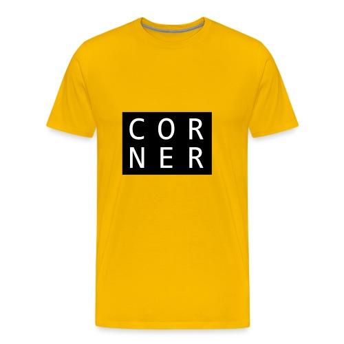 cornerbox - Herre premium T-shirt
