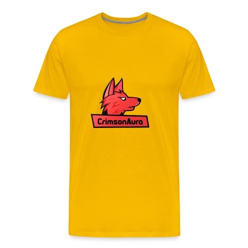 CrimsonAura Logo Merchandise - Men's Premium T-Shirt