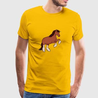 projet de cheval - T-shirt Premium Homme