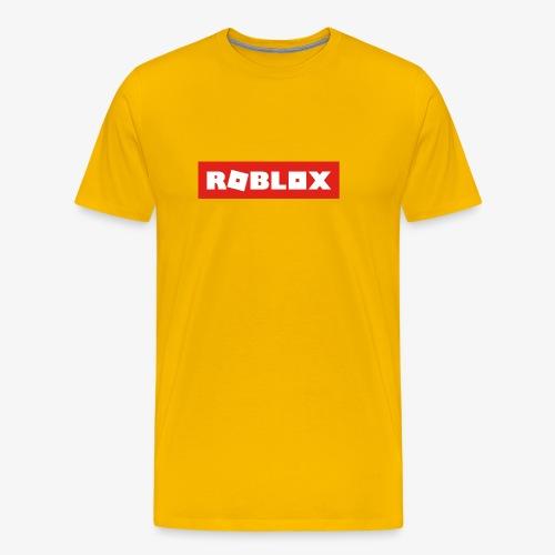 Roblox Shirt - Men's Premium T-Shirt