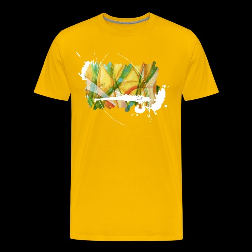 colourful waves - Männer Premium T-Shirt