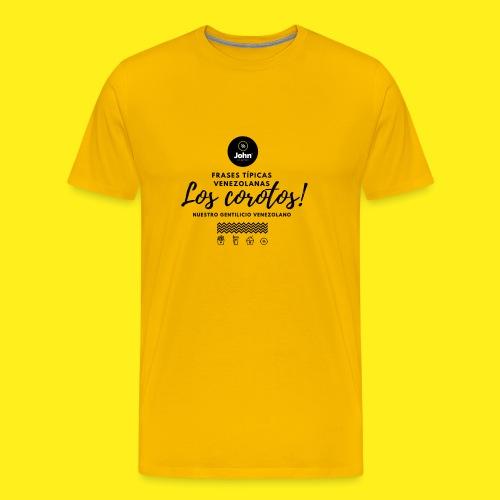 FRASES VENEZOLANAS 2F JOHN LAAREPA 5 - Camiseta premium hombre