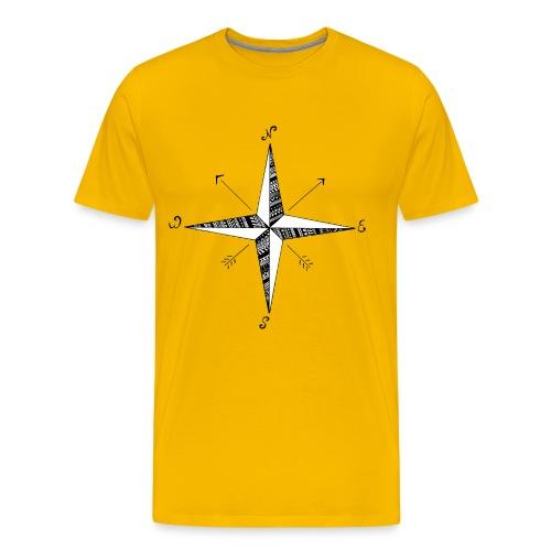 Compass Rose - Men's Premium T-Shirt
