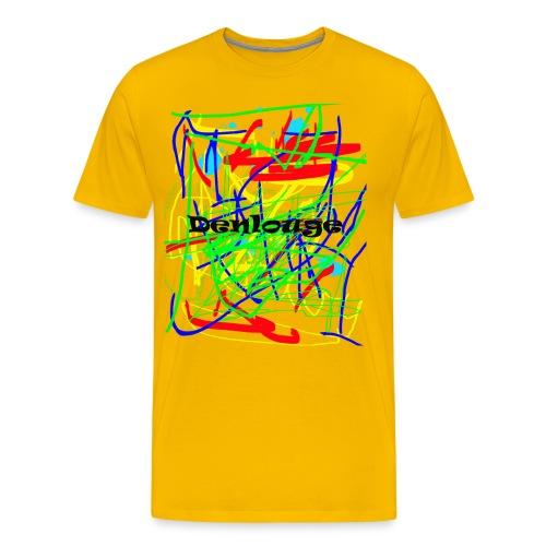 Denlouge Abstract - Männer Premium T-Shirt