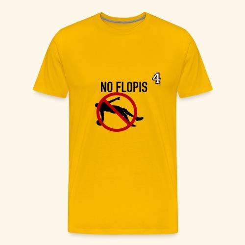 No Flopis - 4 - Camiseta premium hombre