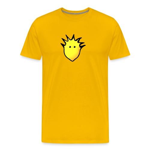 Spikey Lemon logo 2 - Men's Premium T-Shirt
