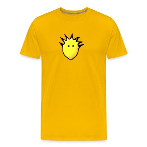 Spikey Lemon logo 2 - Men's Premium T-Shirt