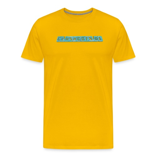 CLASHCOIN DE Text - Männer Premium T-Shirt