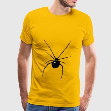 prawdziwy pająk - Koszulka męska Premium