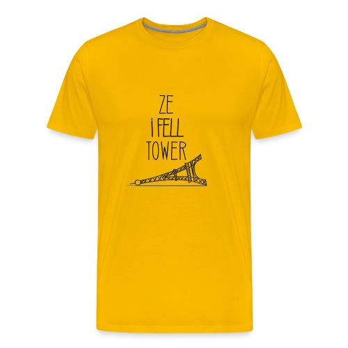 Ze I Fell Tower - T-shirt Premium Homme