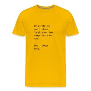 Couple Comedy - Men's Premium T-Shirt