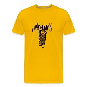 Lundi, je déteste les lundis, je hais les lundis - T-shirt Premium Homme
