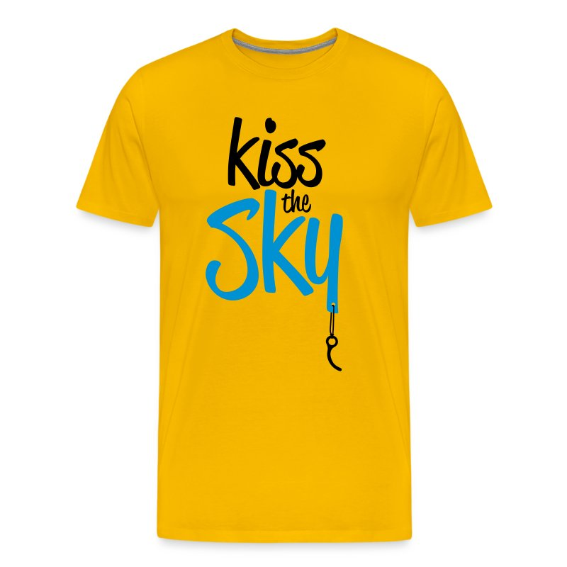 Kiss the Sky - Männer Premium T-Shirt