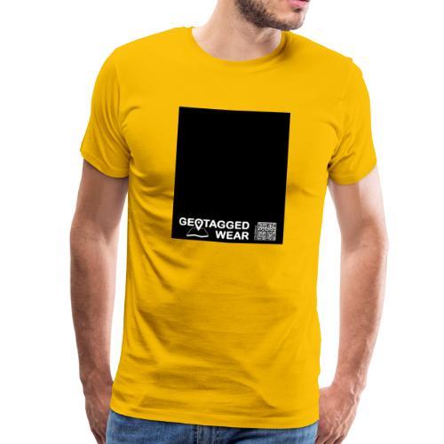 Square Key (Black) - CMYK Collection - Männer Premium T-Shirt