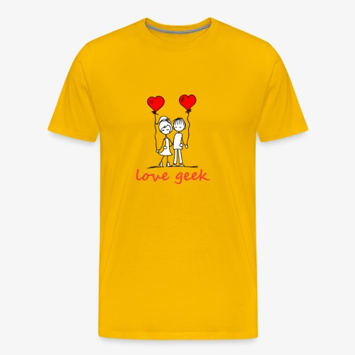 Love geek - T-shirt Premium Homme