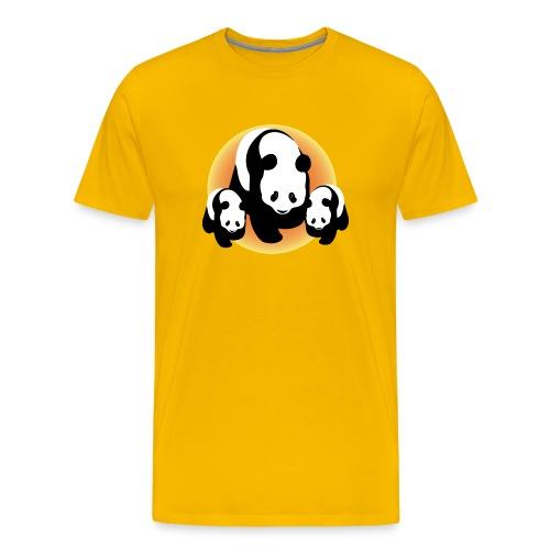 Chineese Panda's - Mannen Premium T-shirt