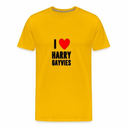 I <3 Harry Gayvies - Men's Premium T-Shirt