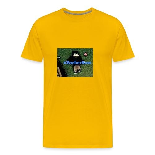 #zockerbros Design - Männer Premium T-Shirt