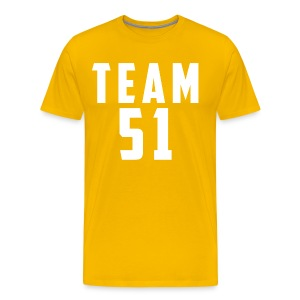 Logo team 51 modern - T-shirt Premium Homme