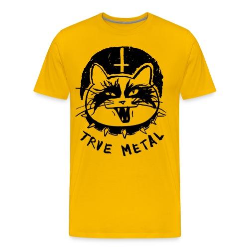 Trve Metal Cat - Men's Premium T-Shirt