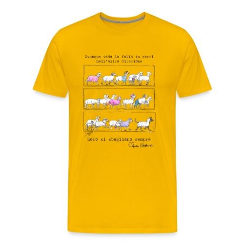 Bukowski's sheep - Maglietta Premium da uomo