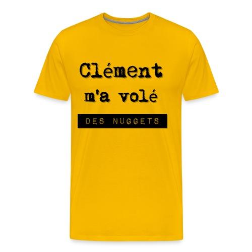 Vol de Nuggets - T-shirt Premium Homme