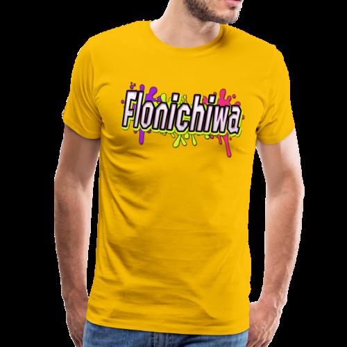 Farbige Action - Flonichiwa - Männer Premium T-Shirt