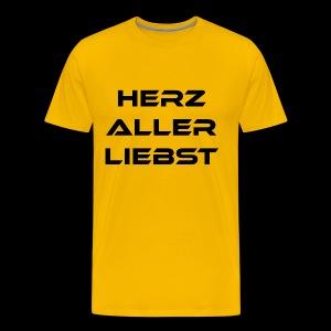 Herzallerliebst - Männer Premium T-Shirt