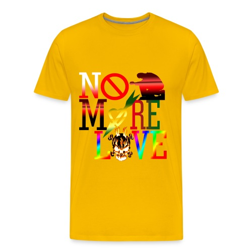 get no more love - Men's Premium T-Shirt
