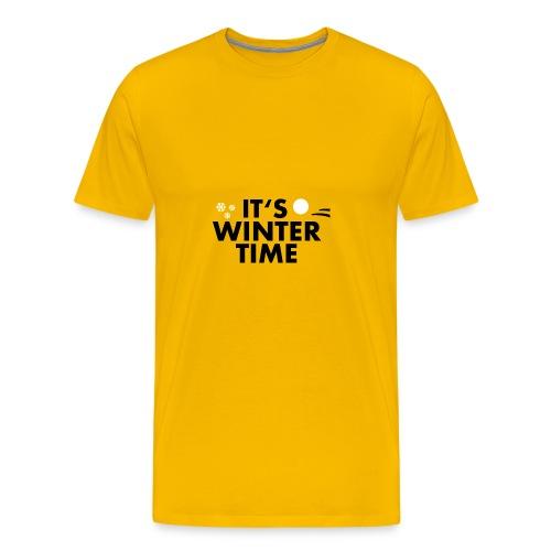 ITS WINTER TIME | WINTER KOLLEKTION - Männer Premium T-Shirt